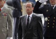 Le baptême du feu (et de l'eau) pour François Hollande