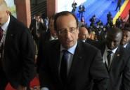 Hollande jette un froid sur l'Afrique