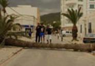 Rafales de vent sur la Tunisie : Suivez le Hashtag #OuraganTunisie pour voir les photos