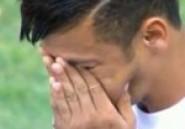 Brésil: Neymar en pleurs pour son dernier match avec Santos-Vidéo