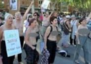 Toulouse : Des féministes manifestent seins nus suite à l'arrestation d'une Femen