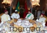 (Vidéo) Macky Sall partage le Ndogou avec le roi du Maroc Mohammed VI