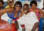 Gorée :Le Lutteur Yaou Dial en bonne compagnie