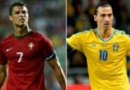 Barrages Mondial 2014: Ibrahimovic-Ronaldo, acte 1 d'un show annoncé !