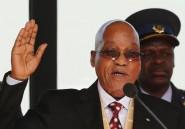 Le président sud-africain Zuma exténué est hospitalisé pour des examens