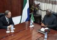 Ebola en Sierra Leone: le président Koroma appelle