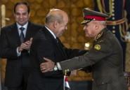 La France et l'Egypte signent le premier contrat