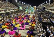 Carnaval de Rio: dernière nuit avec hommage