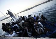 Migrants en rétention