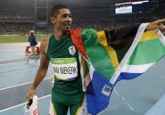 Le champion olympique sud-africain du 400m est coaché par une arrière-grand-mère