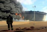 Libye: les incendies des réservoirs attaqués par l'EI sont éteints