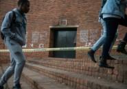 Afrique du Sud: incendie criminel