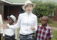 Madonna de retour au Malawi avec ses deux enfants adoptés