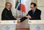 """Centenaire 14-18: Jacob Zuma inaugure un """"mur de la mémoire"""" dans la Somme"""