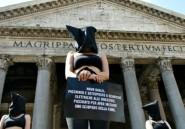 Italie: flash mob d'Amnesty International contre les disparitions en Egypte