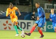 Espoirs: la France bat la Côte d'Ivoire en amical avec un triplé de Haller