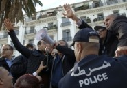 Alger: la police empêche un rassemblement de syndicalistes