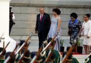 Afrique du Sud: échange de coups au Parlement