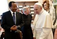 Le pape et Paul Biya saluent le respect entre les religions