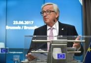 Migration: Juncker exorte l'UE