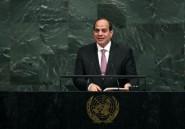 Le président égyptien appelle les Palestiniens
