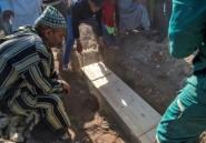 Bousculade meurtrière au Maroc: les familles enterrent les victimes