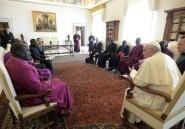 Le pape parle de paix avec une délégation des Eglises du Soudan du Sud