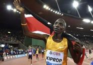 Athlétisme: le contrôle positif de Kiprop confirmé, ses accusations d'irrégularités rejetées