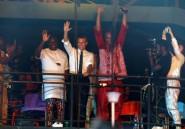 Le chanteur nigérian Femi Kuti salue la visite du président Macron dans son club