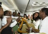 Premier vol d'Eritrean Airlines vers l'Ethiopie