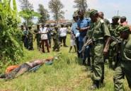 RDC: attaque de rebelles burundais contre la frontière