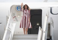 Melania Trump arrive au Ghana pour son premier voyage en Afrique