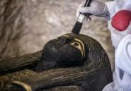 L'Egypte dévoile un tombeau et des sarcophages