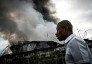 Elections en RDC: incendie dans un dépôt de la commission électorale