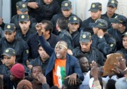 Manifestation d'Ivoiriens