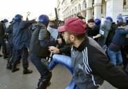 Algérie: manifestations émaillées de heurts contre un 5e mandat de Bouteflika
