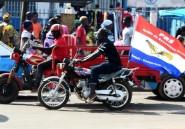 Bissau: marée humaine, posters, klaxons au dernier jour de la campagne