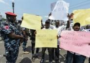 Nigeria: manifestation après la suspension du processus électoral