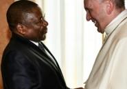 Le pape au Mozambique,