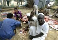 Viande et musique: les manifestants soudanais fêtent le départ de Béchir
