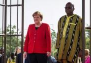 Merkel promet une aide au Burkina pour lutter contre les jihadistes
