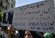 Algérie: décès en prison d'un militant des droits humains