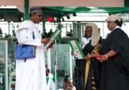 Nigeria: le président Buhari investi pour un second mandat qui s'annonce difficile