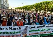 """Des milliers de manifestants au Maroc contre le """"congrès de la honte"""""""