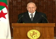 """Algérie: le président par intérim propose un dialogue sans participation de """"l'Etat"""""""