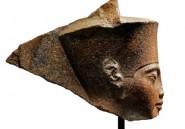 Une tête de Toutankhamon aux enchères