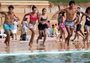A la nouvelle piscine de Rabat, la difficile quête de détente des Marocaines