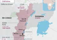 Ouganda: mort d'une fillette de neuf ans atteinte d'Ebola