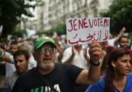Les Algériens dans la rue pour dire non