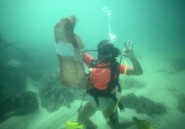 Avec les plongeurs de l'Océanium,